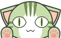 横長な猫のアイコン