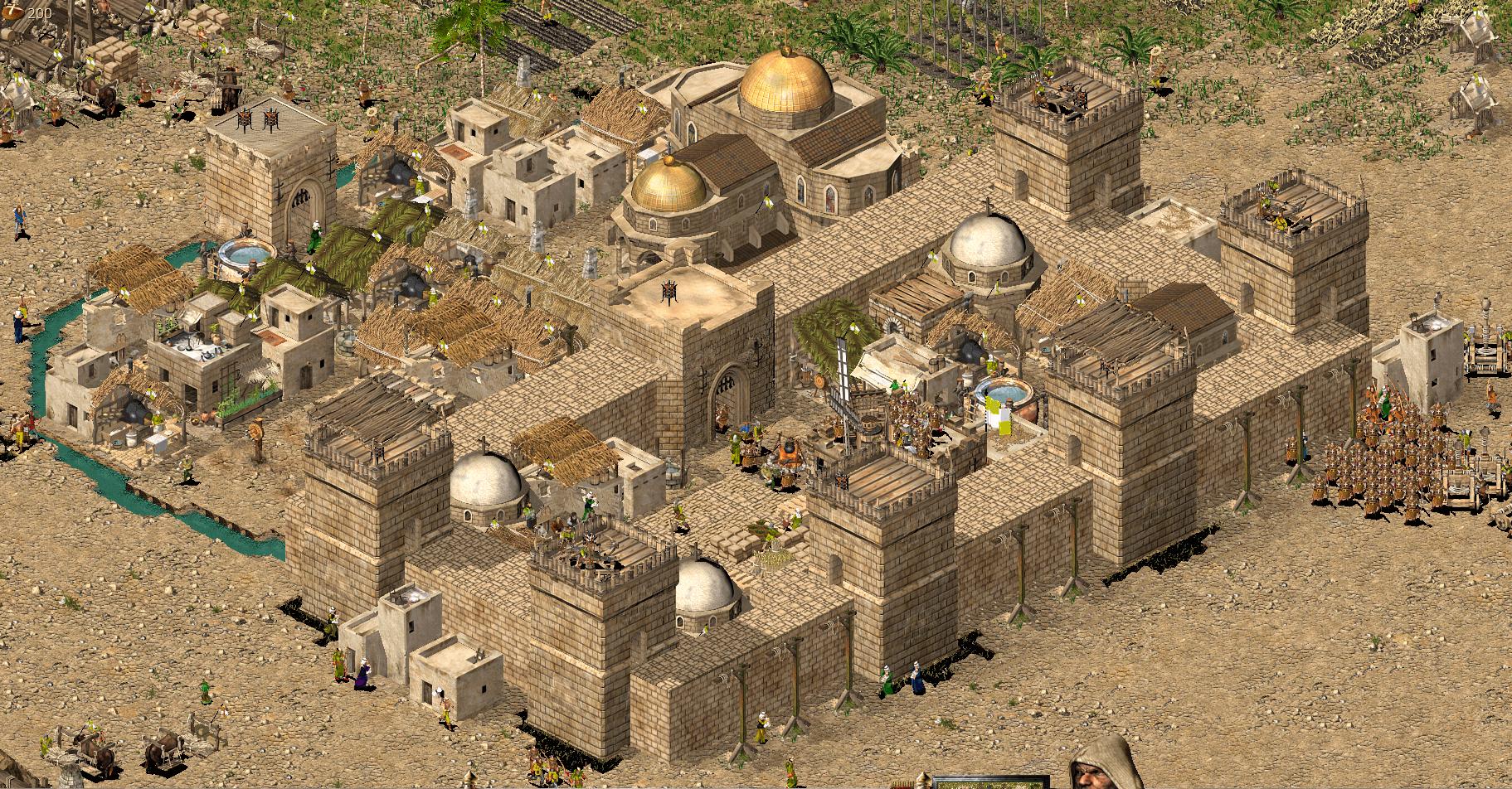 修道院長の要塞