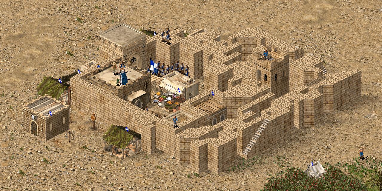 ラットの要塞