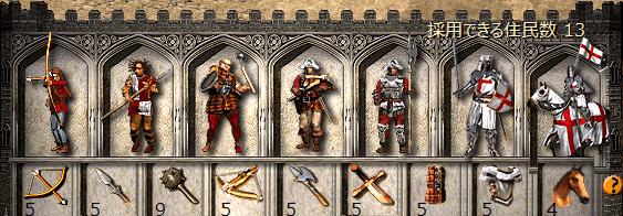 十字軍のユニット一覧